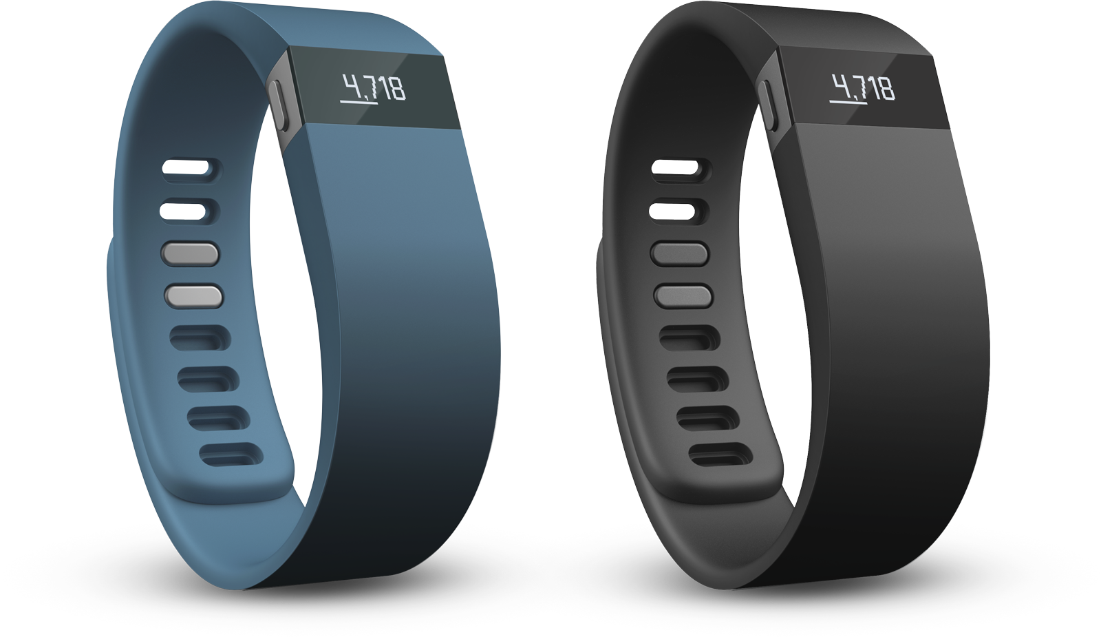 fitbit charge blå sort