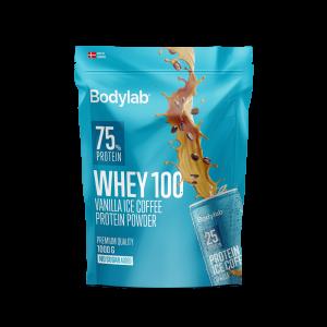 BodyLab Whey 100 Proteinpulver Vanilla Ice Coffee (1kg)