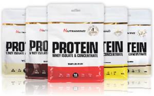 Nutramino Whey Protein – noget for enhver smag