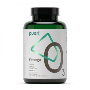 Puori (PurePharma) Omega-3 O3 (120 kapsler)