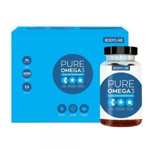 Bodylab Pure Omega 3 (120 stk)