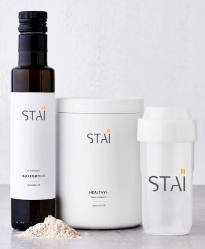 Collagenshaken STAÏ Healthy+ - Hold din hud ung og få vigtige vitaminer og næringsstoffer