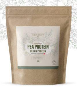 Nordic Protein Ærteproteinpulver (500g) – højt proteinindhold