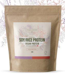 Nordic Protein Soja/Ris mix (500g) – 100% vegansk med stærk aminosyreprofil