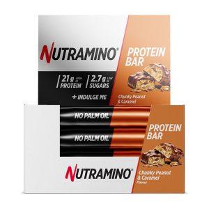 Nutramino Proteinbar Chunky Peanut Caramel
